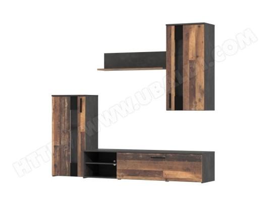 icaverne living meuble tv mural complet arantus ensemble meuble tv 213 x 184 x 41 3 cm ma 15ca43 livi jrqpk