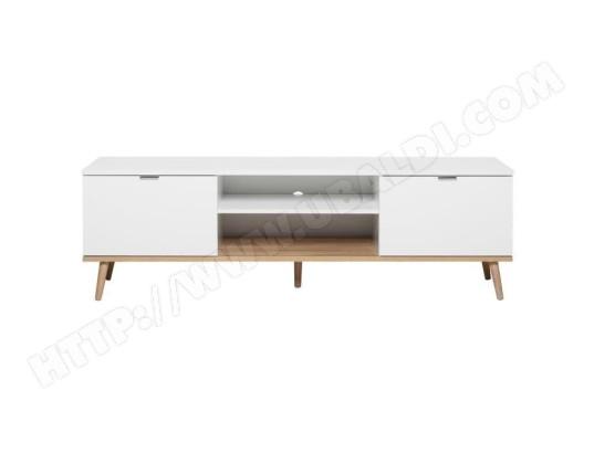 icaverne meuble tv meuble hi fi goteborg meuble tv scandinave blanc l 160 cm ma 15ca487meub xcysj