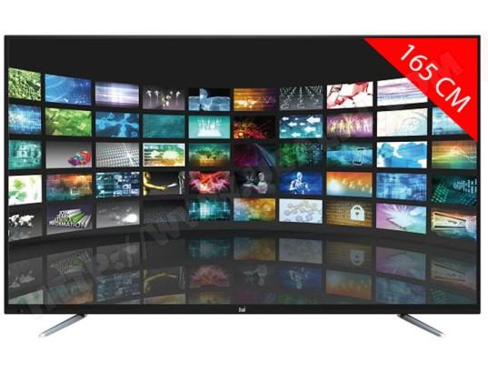 dual tv led full hd 165 cm dl tql65f4 001