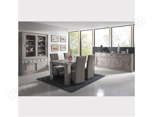 nouvomeuble salle a manger complete contemporaine couleur bois gladis ma 82ca492sall qppqq