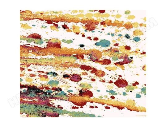 nouvomeuble tapis de salon design multicolore bajoz ma 82ca183tapi 5x34o