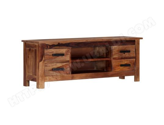 icaverne inedit meubles famille singapour meuble tv 110 x 30 x 40 cm bois de sesham solide ma 78ca487ined g4sq6