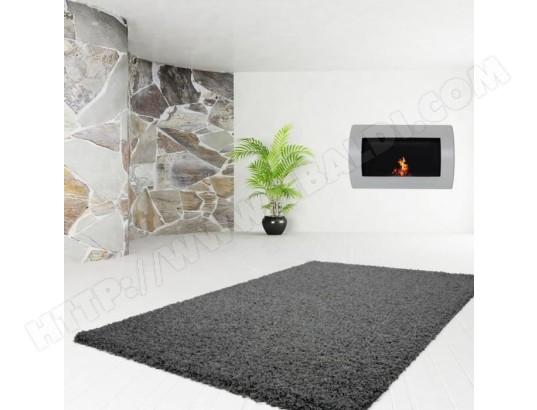 icaverne tapis de couloir tapis de passage trendy tapis de couloir shaggy en polypropylene 80 x 140 cm gris anthracite ma 15ca183tapi 1zc35