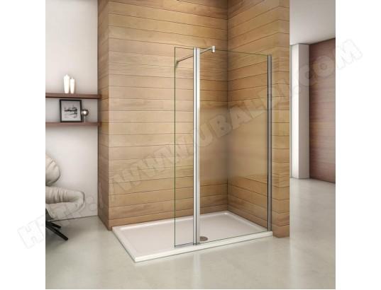 aica sanitaire aica paroi de douche pivotante 140x200cm 30x200cm paroi laterale a l italienne avec un retour ma 12ca546aica x0kwr