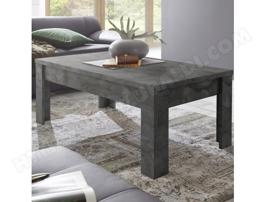 sofamobili table de salon 120 cm anthracite design artic 5 ma 11ca182tabl amh71