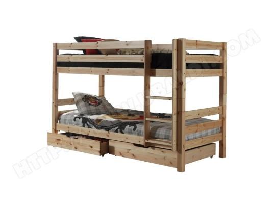 paris prix lit superpose 2 tiroirs de lit enfant pino naturel ma 12ca188lits g4iyb