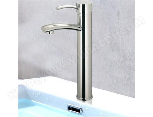 tbd robinet mitigeur de lavabo haut en laiton chrome vasque salle de bain ma 15ca60 robi o02em