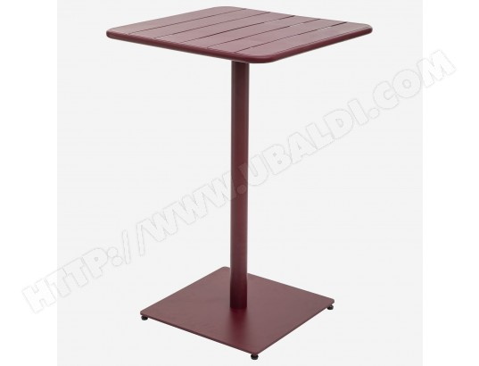 hesperide table haute de jardin design phuket 2 personnes bordeaux ma 71ca281tabl 5l2ow