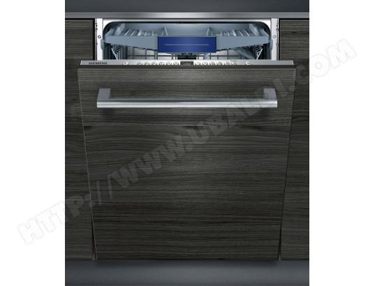 siemens lave vaisselle tout integrable 60 cm sx736x19ne porte a glissiere