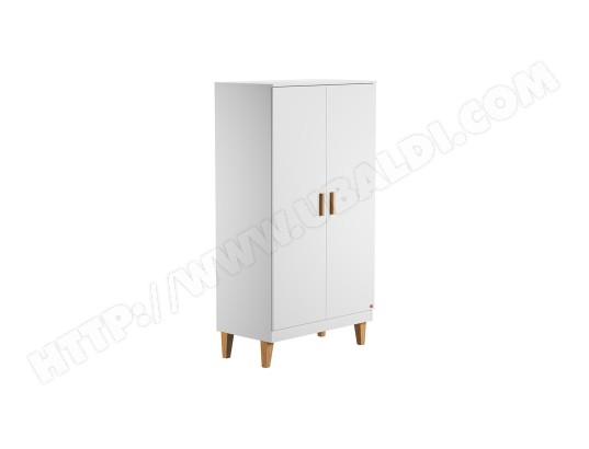 miliboo armoire penderie scandinave blanche jill ma 78ca194armo g07os
