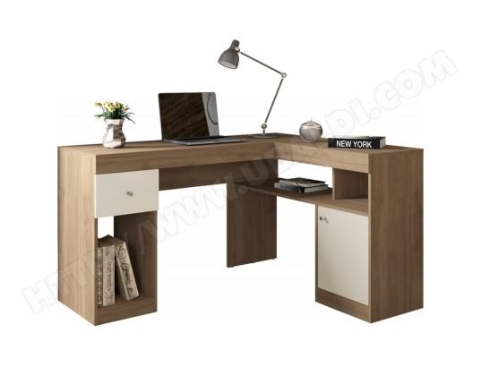 beaux meubles pas chers bureau d angle chene caisson et rangements ma 18ca549bure y04sm