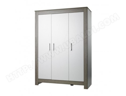 geuther geuther marlene armoire 3 portes blanc ceruse ma 55ca456geut 6wi09