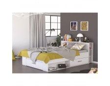 lit avec tiroir 140x190 achat vente