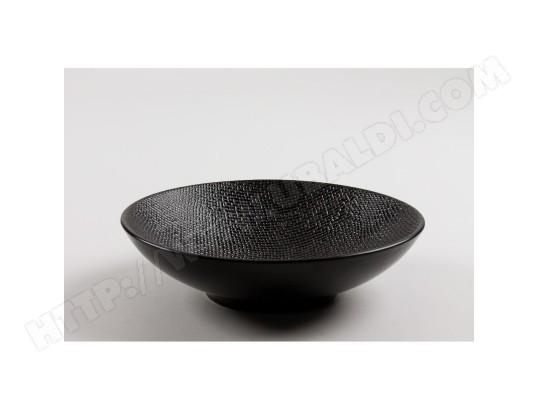 table passion assiette creuse vesuvio noir 19 cm lot de 6 ma 18ca512assi 9hkoj