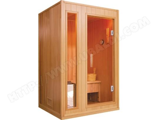 sauna france sauna zen 2 places pas