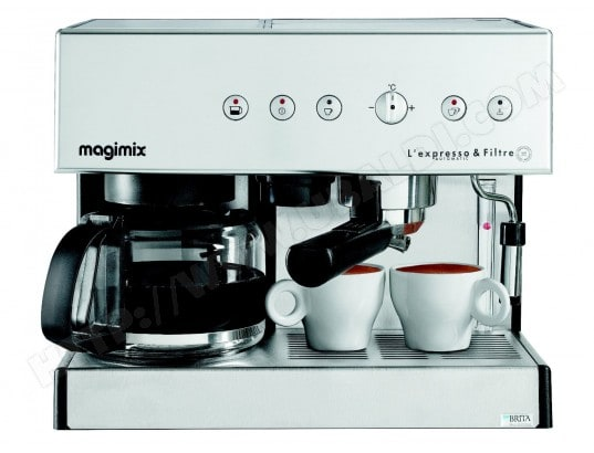 magimix combine expresso 11423 chrome mat