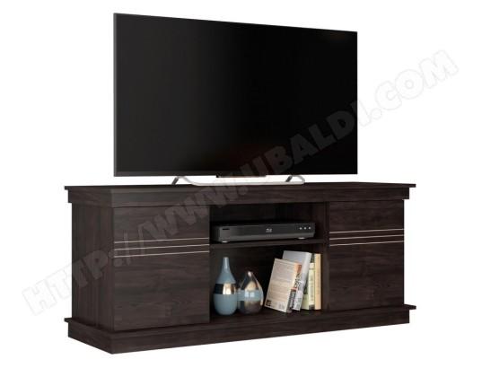 beaux meubles pas chers meuble tv 55 pouces 136 cm wenge ma 18ca487meub htg86