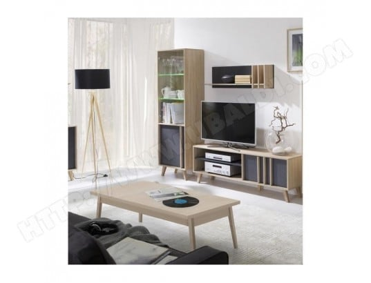 price factory ensemble design pour votre salon malmo bibliotheque meuble tv etagere table basse ma 76ca43 ense drq4g