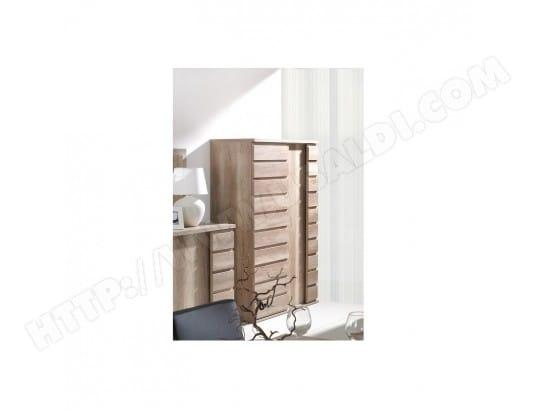 price factory bar vaisselier bibliotheque romi 2 portes coulissantes coloris dab canyon meuble design ideal pour votre salon ma 76ca43 bar 74xov