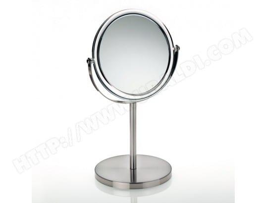 Miroir Grossissant Salle De Bain Sur Pied En Metal Chrome Et Acrylique Jade Kela Ma 20ca554miro 322g1 Pas Cher Ubaldi Com