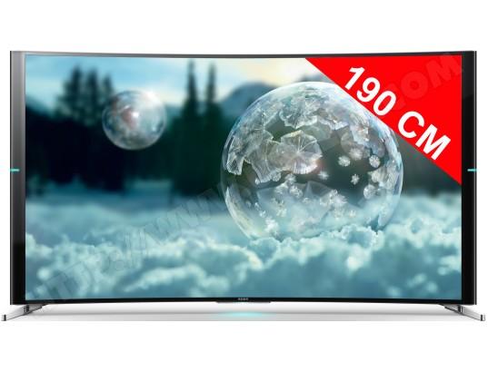 tv led 4k incurve 3d 190 cm