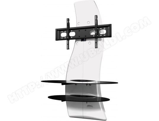 meliconi meuble tv ghost design 2000 blanc