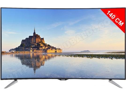 panasonic tv led 4k incurve 3d 140 cm tx55cr430e