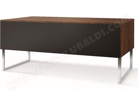 norstone meuble tv khalm 140 noyer noir