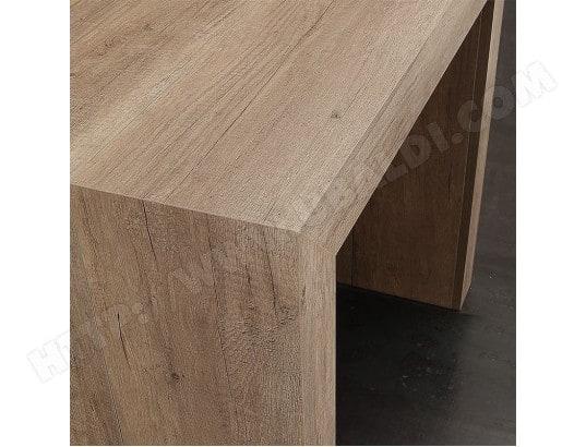 nouvomeuble table console extensible 3m coloris bois clair altea ma 82ca182tabl lqw5g
