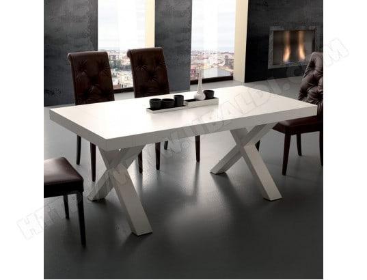 nouvomeuble table a manger extensible design blanc lena ma 82ca492tabl v1a03
