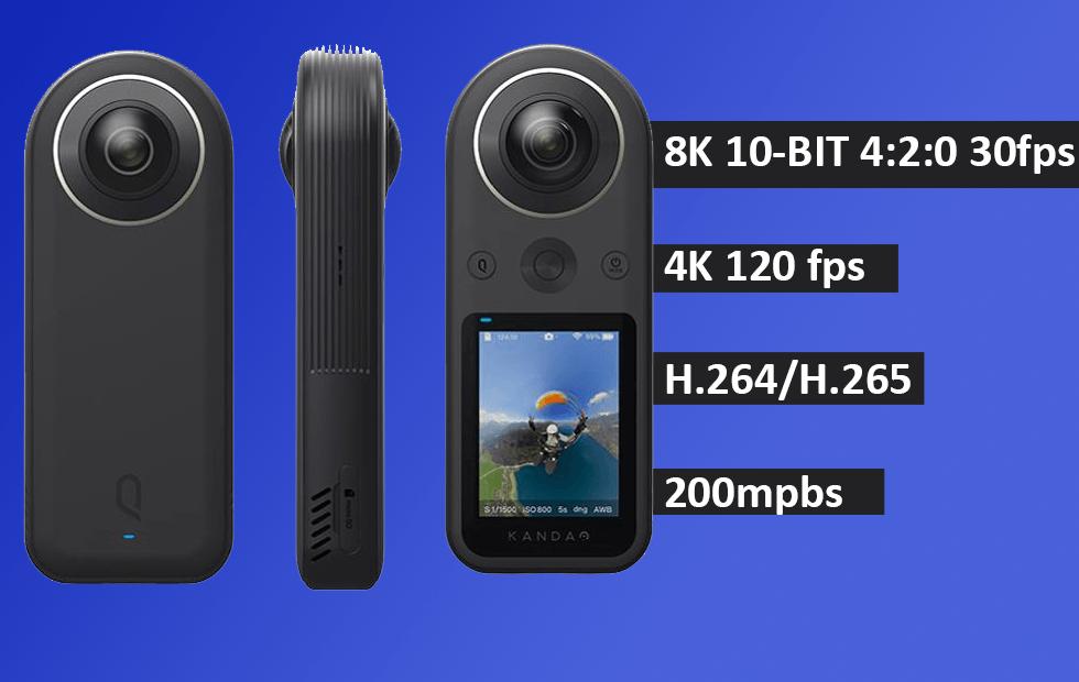 QooCam 8K 360 Camera
