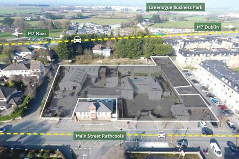 Site with FPP for 58 Bedroom Aparthotel and 9 Retail Units, Rathcoole, Co. Dublin