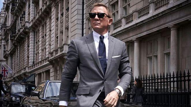 James Bond's iconic looks