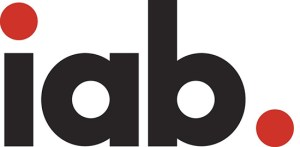Interactive Advertising Bureau logo.