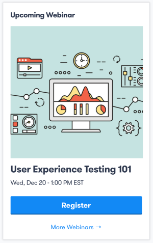 User Experience Testing 101