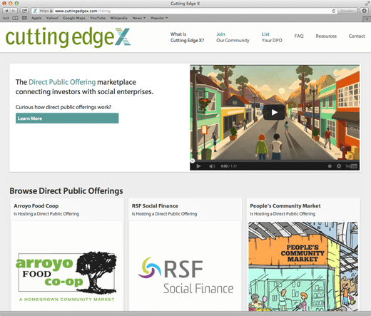 CuttingEdgeX homepage