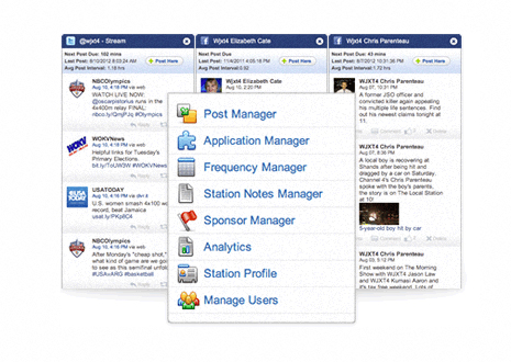 Social Media Desk's Dashboard Manager