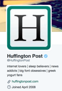 At HuffPost, social is the new front page. Shamberg helped grow the site's official Twitter account.