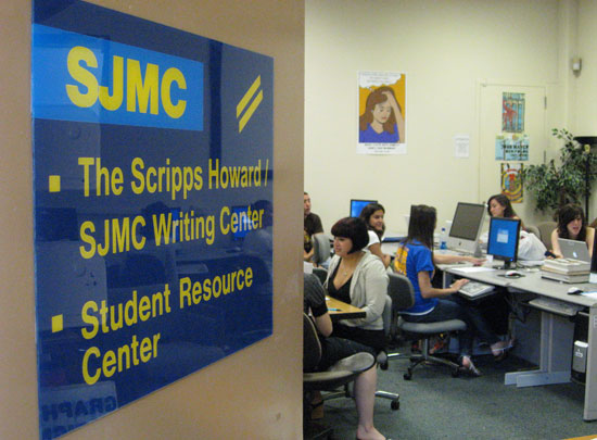 Practicing in the SJMC Writing Center