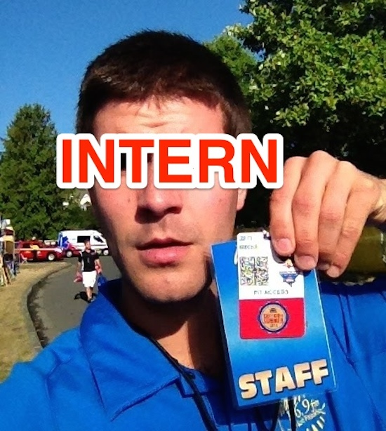 The line between intern and staff positions is always a little blurry. Photo by Gabriel Cline.