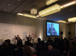 Time Warner CEO and chairman Jeff Bewkes at the UBS media conference in New York.