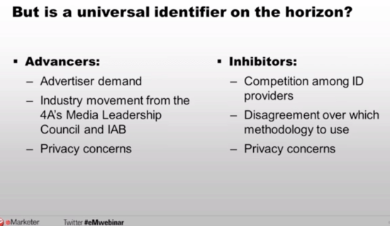 Universal Identifier and Privacy