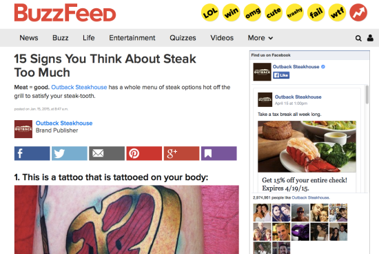 BuzzFeed screenshot.