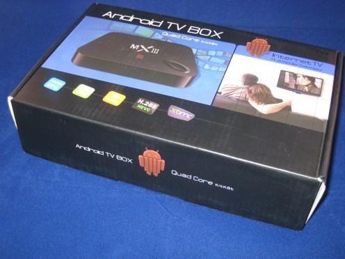 De originele verpakking van de Quad Core box