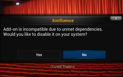 XConfluence message
