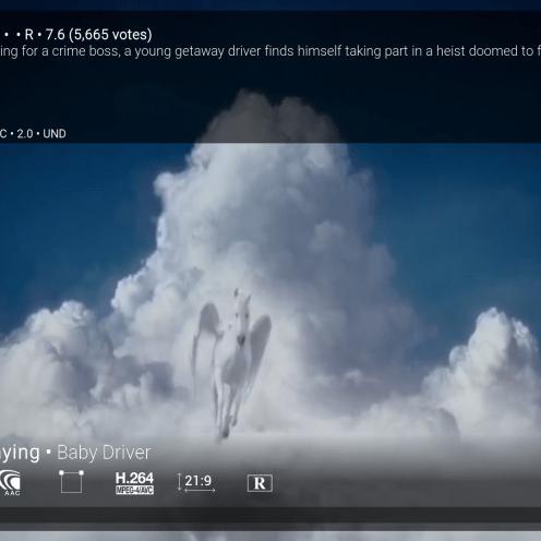 Kwaliteit gewone stream (720P, stereo)