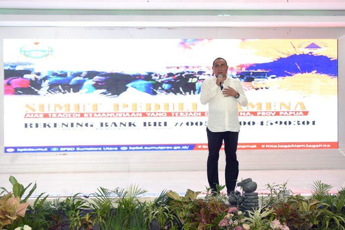 Inisiasi Gubsu, Pemprovsu Kumpulkan Rp2,1 M untuk Papua