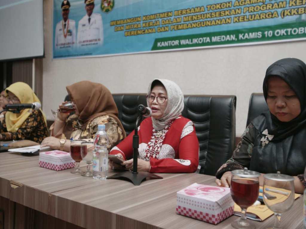 Pemko Medan Ajak Tokoh Agama, Adat dan Masyarakat Sukseskan Kampung KB