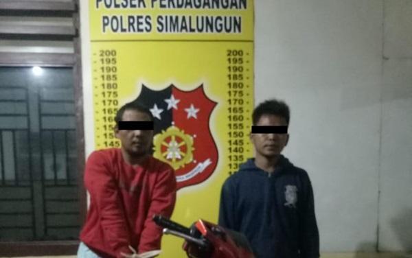 Polisi Ciduk 2 Curanmor dan Penadah