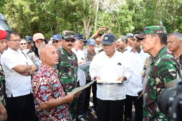 Panglima TNI Bersama Menteri PUPR Tinjau Ex Camp Vietnam Pulau Galang